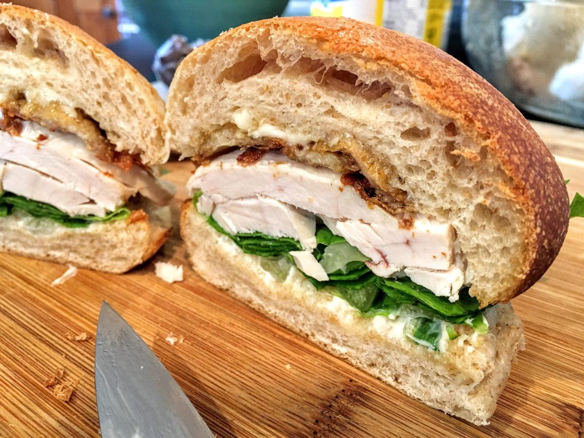 5-minute Chicken Sandwich