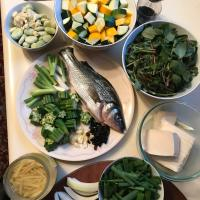 CSA Dinner: July Stir Fry & Whole Fish with Okra + Tofu
